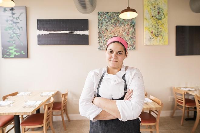 Chef Jessie Gilroy. - MABEL SUEN