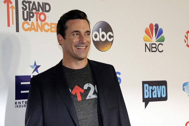 Jon Hamm at an event in 2014. - PHOTO COURTESY OF FLICKR/DISNEY   ABC TELEVISION GROUP