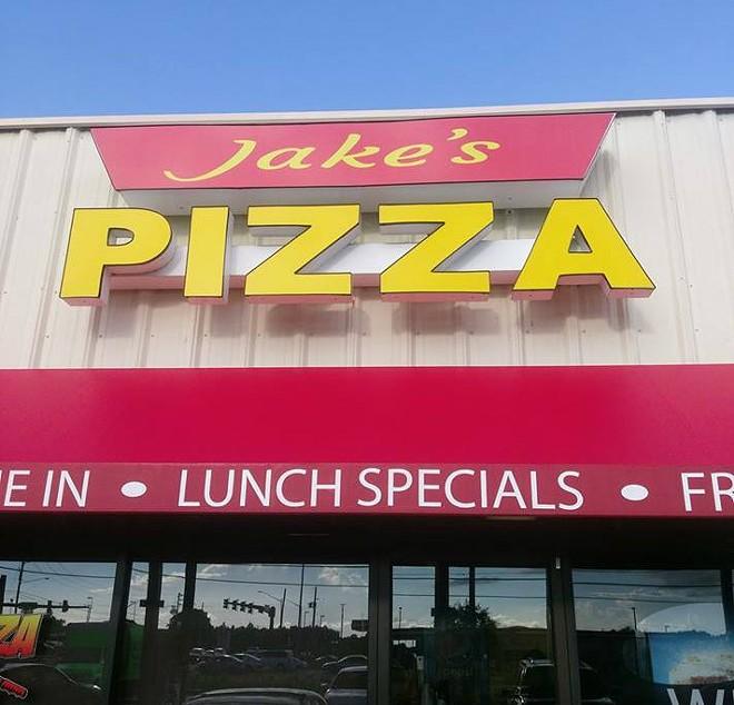 COURTESY OF JAKE'S PIZZA
