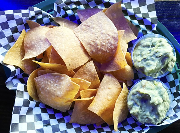 CHIPS AND GUACAMOLE | SARA GRAHAM