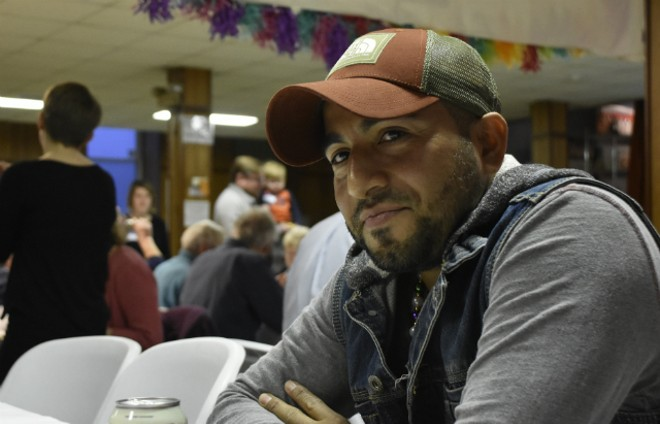 Alex Garcia is still hoping immigration officials will stay a deportation order. - DOYLE MURPHY
