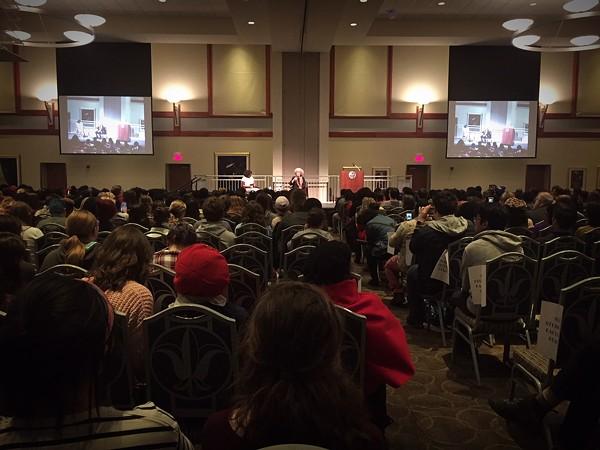 Angela Davis at Saint Louis University, February 14, 2018 - JAIME LEES