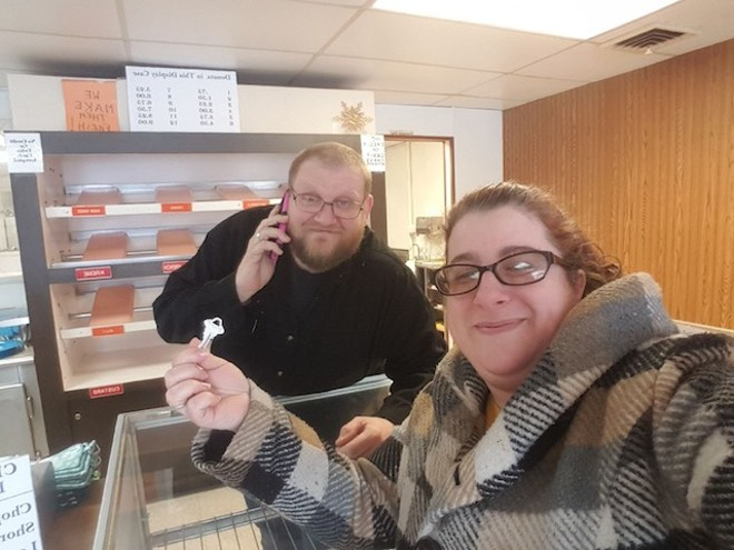 Donut-King's new owners have taken possession. - COURTESY OF PAUL AND ALISSA THOENEN
