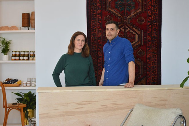 Julia and Brian Leenig, owners of Future Ancestor. - MEGAN ANTHONY