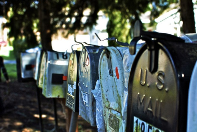 Scammers targeted people through the mail, authorities say. - COURTESY OF FLICKR/ANDREW TAYLOR