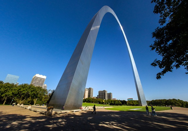 An anti-gun march will traverse downtown from Union Station to the Arch. - FLICKR/JASON MRACHINA