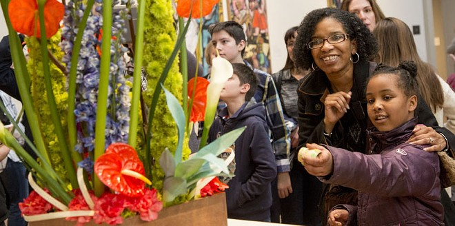 A museum filled with flowers and art sounds just right this weekend. - (C) 2018 COURTESY OF SAINT LOUIS ART MUSEUM