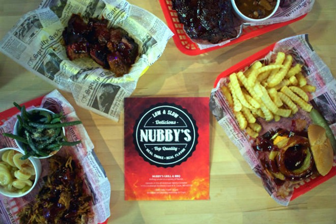 """Nubby's is now serving """"backyard barbecue"""" in south county. - CHERYL BAEHR"""