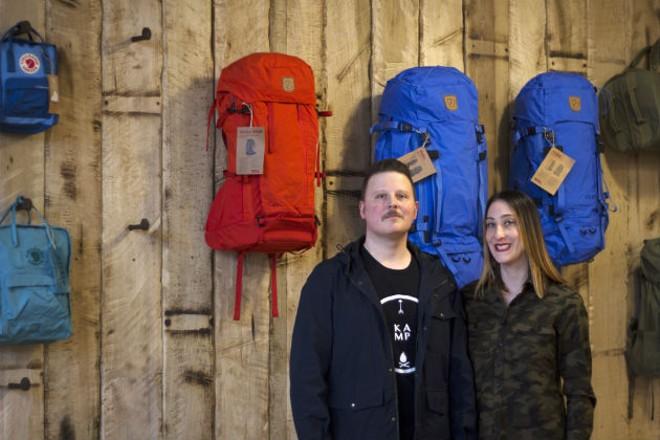 Kamp owners Jason and Mandi Gray - HAYLEY ABSHEAR