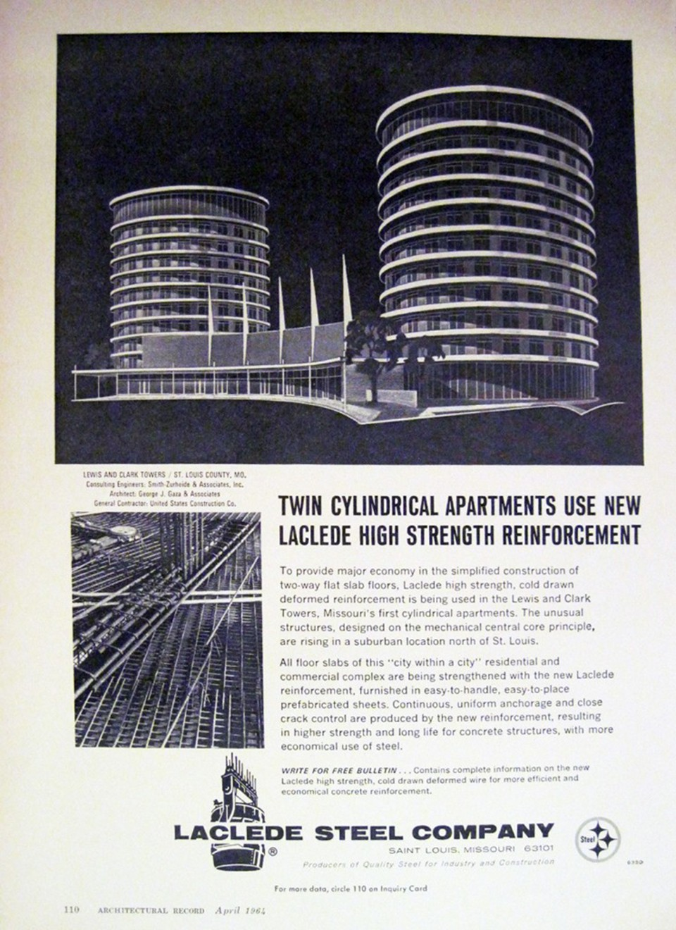 San Francisco blogger John Lumea found this 1964 Architectural Digest advertisement. - COURTESY OF B.E.L.T.