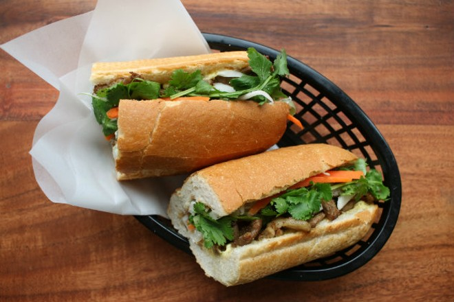 A tradition Vietnamese banh mi sandwich. - CHERYL BAEHR