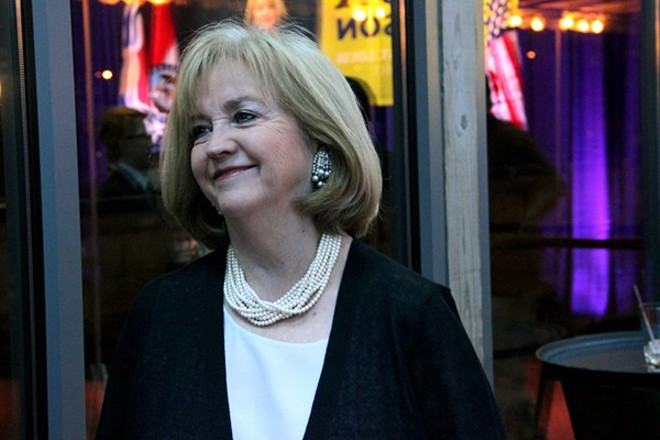 Mayor Lyda Krewson has continued Slay's efforts to evaluate the airport's future. She's also continued his strategy of opaque decision-making. - DANNY WICENTOWSKI