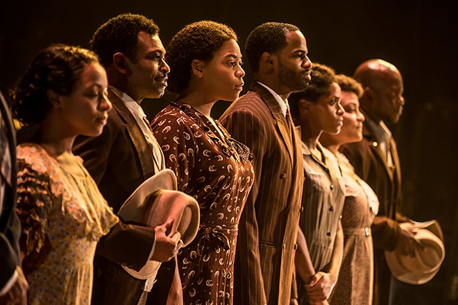The musical version of The Color Purple returns to the Fox Theatre this weekend. - MATTHEW MURPHY, 2017