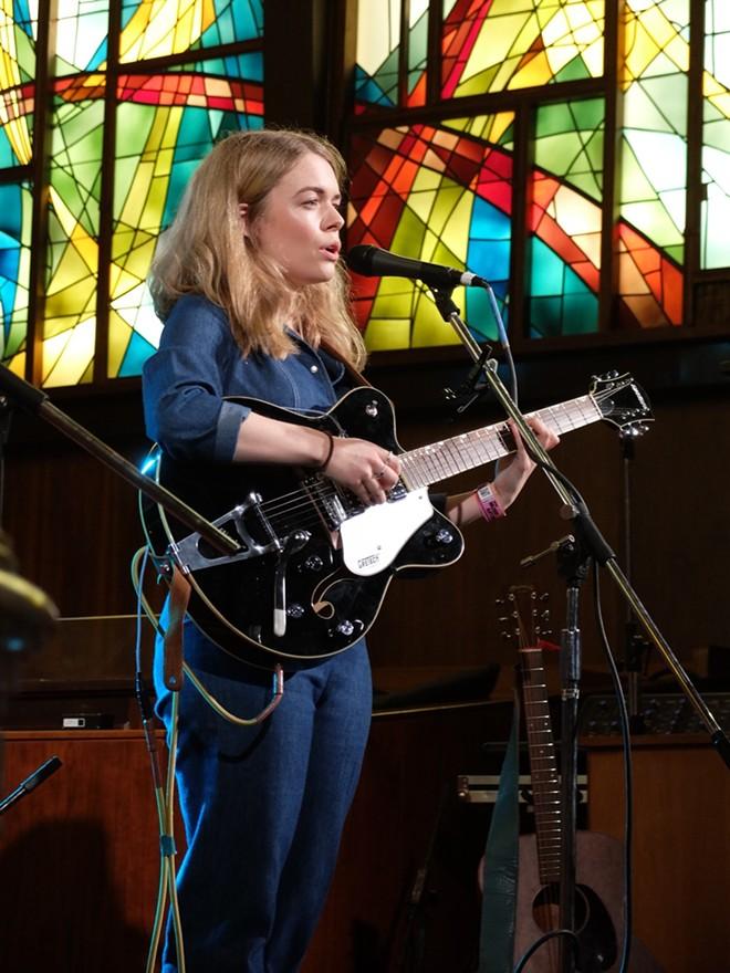 Chloe Foy at Central Presbyterian Church - DANA PLONKA