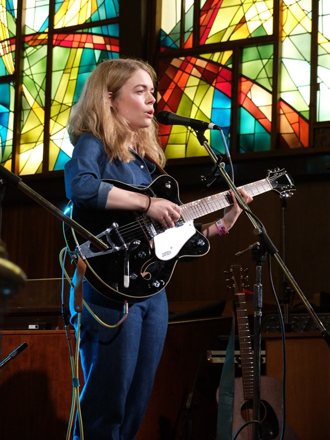 Chloe Foy at Central Presbyterian Church - DANA PLONKA