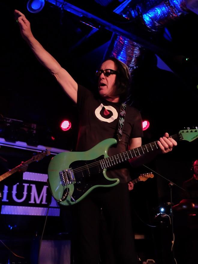 Todd Rundgren at Elysium - DANA PLONKA