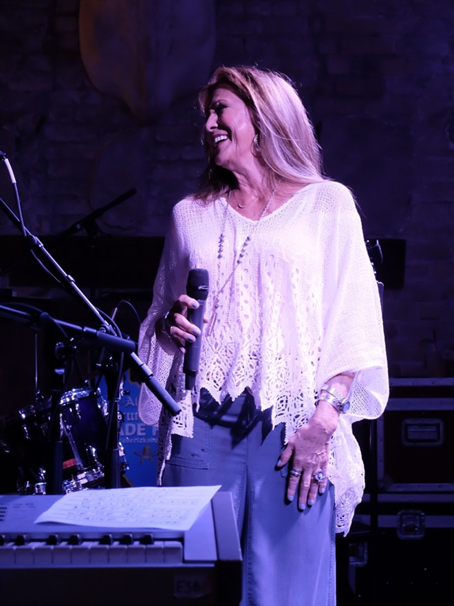 Rita Coolidge at Cooper's BBQ - DANA PLONKA