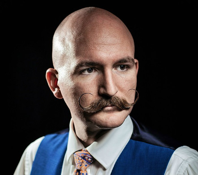 Elaborate mustaches will be judged on their own merits. - MATT SEIDEL