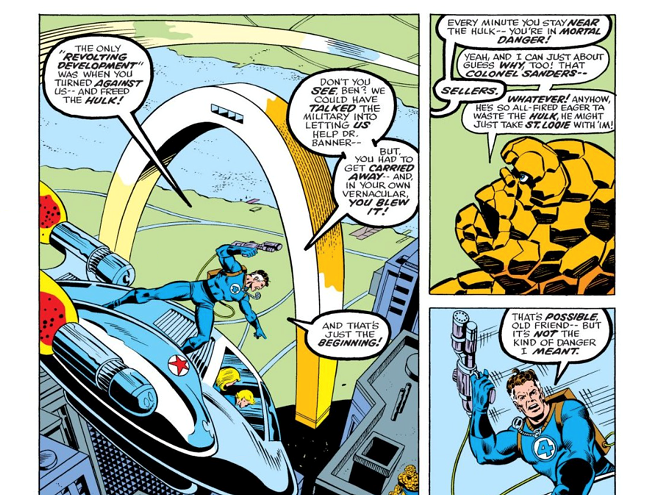 The comic utilized an extra-chunky version of the Arch as a battleground. - IMAGE VIA APOTHEOSIS COMICS