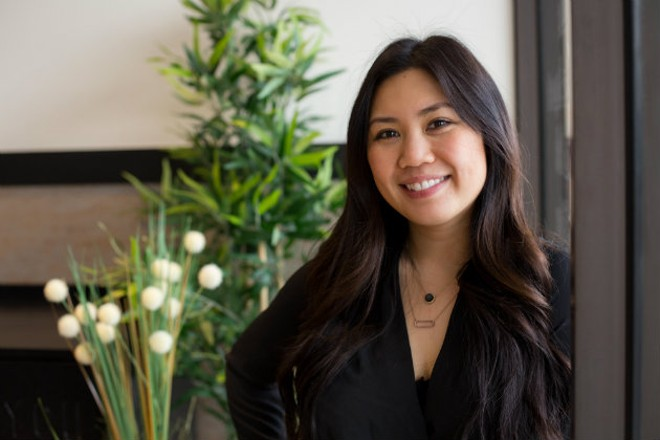 Julie Truong left her big-time fashion career to follow her restaurant dreams. - MONICA MILEUR