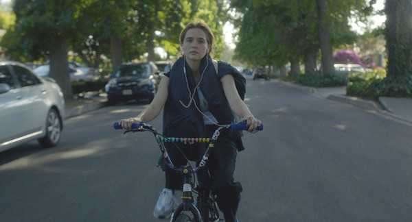 Zoey Deutch stars as Erica, the rat-owning vigilante teen at the heart of Flower. - COURTESY OF THE ORCHARD