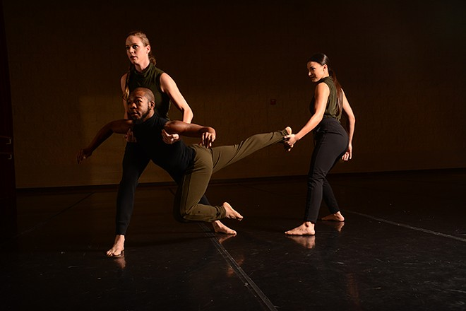 MADCO performs something new at New Dance Horizons VI. - DAVID LANCASTER