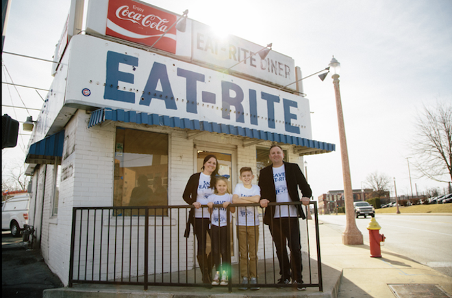 Joel and Shawna Holtman are Eat-Rite's new owners. - KORIN FISHER