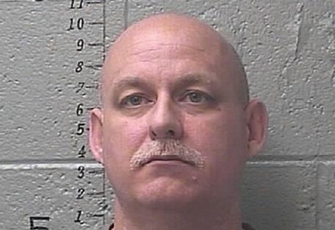 Duane McAllister mugshot taken after his March 31 arrest. - ST. FRANCOIS COUNTY JAIL