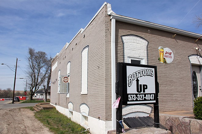 Bottoms Up bar, the site of a alleged assault by a Park Hills councilman last month. - DANNY WICENTOWSKI
