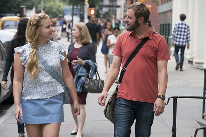 As Schumer's love interest, Rory Scovel is terrific. - MARK SCHAFER; MOTION PICTURE ARTWORK © 2017 STX FINANCING
