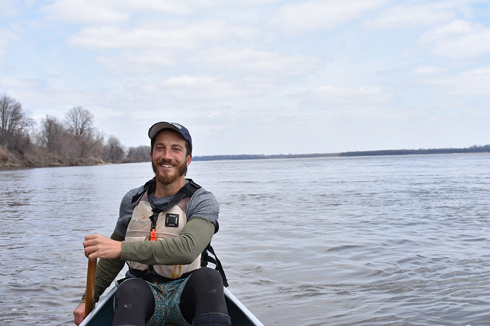 Paul Gruber has become a river enthusiast, despite initially feeling little interest.