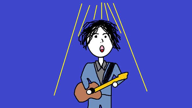 Totally accurate representation of a Jack White concert - JAIME LEES