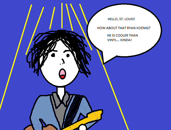 How we imagine Jack White's shout-out to Ryan Koenig - JAIME LEES
