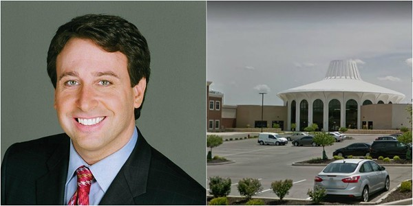 Steve Stenger is facing scrutiny over a lease to move county offices to Crossings at Northwest. - PHOTOS VIA STLOUISCO.COM/GOOGLE MAPS