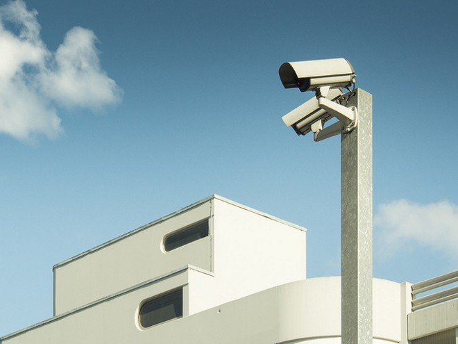 Hundreds of surveillance cameras now feed into a system monitored in real time by St. Louis police. - FLICKR/ANDREAS LEVER