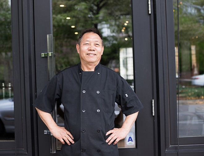 Executive chef Ny Vongsalay allows his roots to shine through on the Asian-inflected menu. - MABEL SUEN