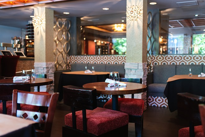 The wine bar takes over a space that was previously home to Morton's Steakhouse. - SPENCER PERNIKOFF