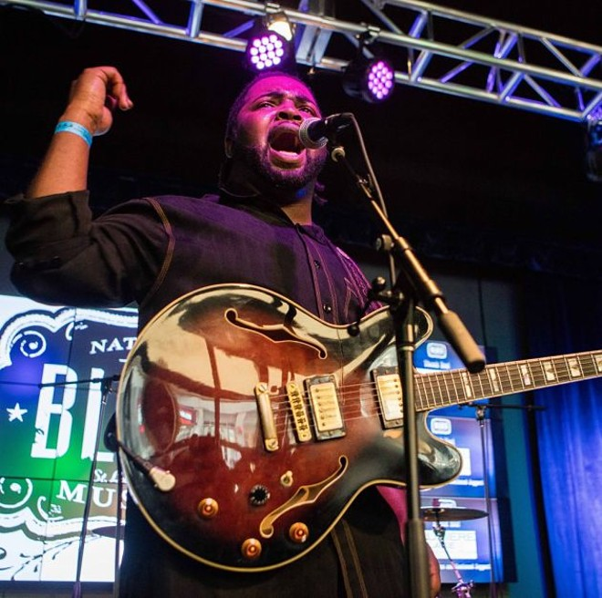 Marquise Knox will perform on August 10. - VIA BLUES AT THE ARCH OFFICIAL WEBSITE