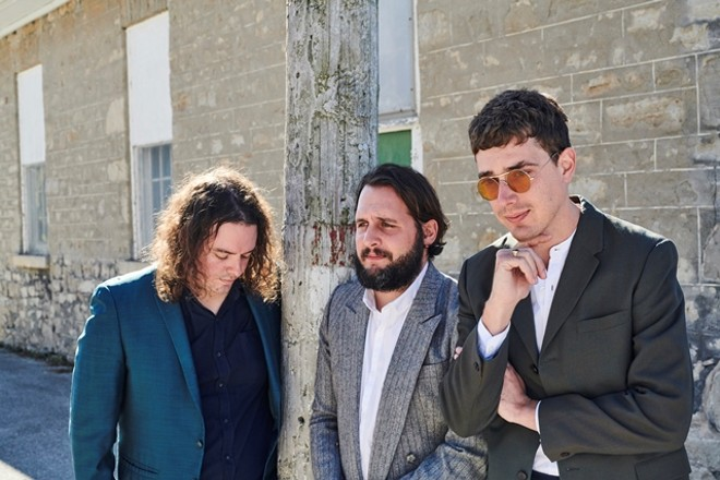 Born Ruffians will perform at Old Rock House on Friday. - VIA THE BILLIONS CORPORATION