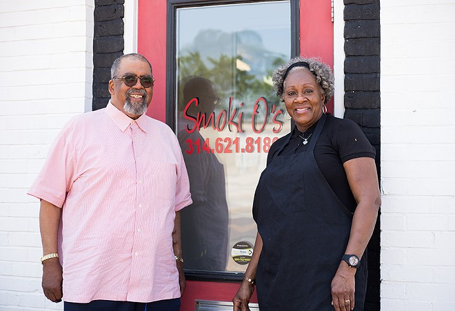 Earline and Otis Walker, co-owners of Smoki O's. - MABEL SUEN