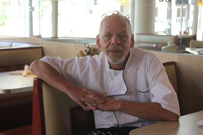Chef Vince Anderson. - SARAH FENSKE