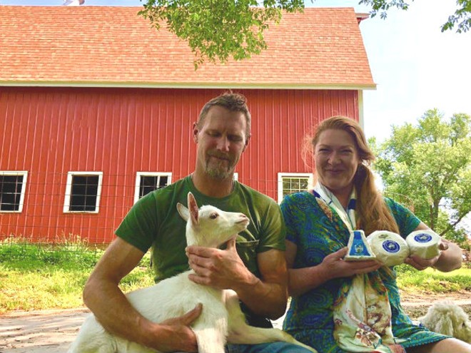 Steve and Veronica Baetje are selling their acclaimed creamery. - COURTESY OF BAETJE FARMS
