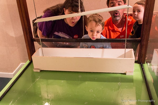 A family enjoys an interactive exhibit at the Magic House. - COIURTESY OF GREG NELSON
