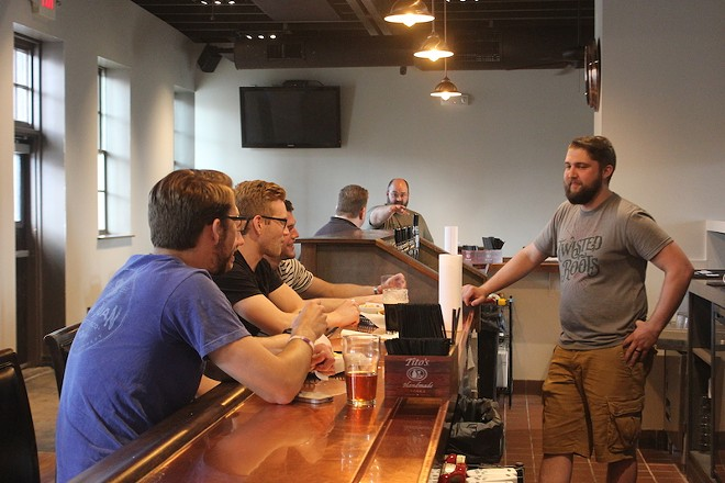 Twisted Roots: Think of it as a bar that makes its own beer. - SARAH FENSKE