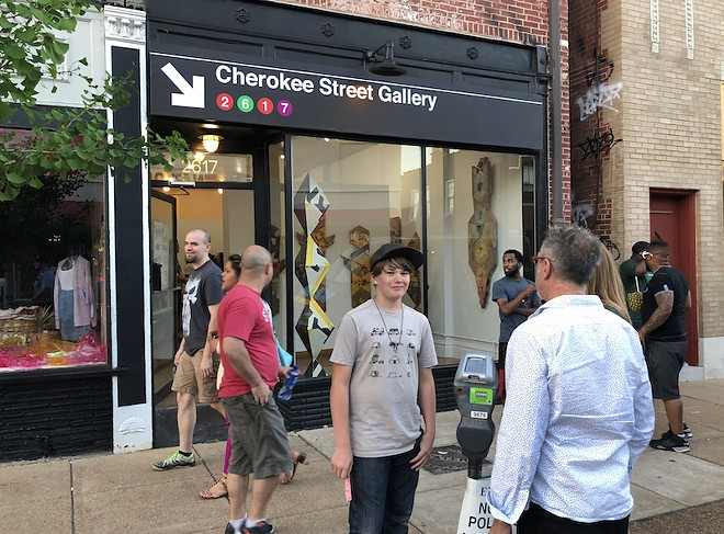 The gallery is located in the heart of Cherokee Street. - COURTESY OF CHEROKEE STREET GALLERY