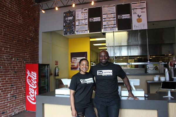 Wife and husband duo Jamila (left) and Cornell Boone are first-time restaurant owners. - CAMILLE RESPESS