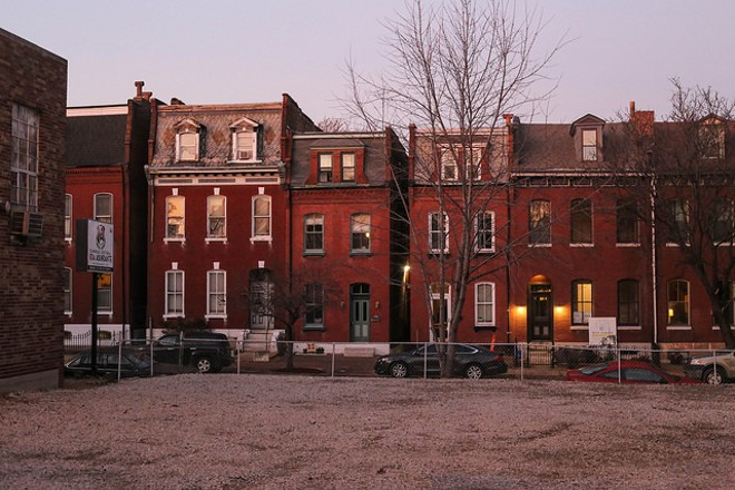 The Soulard neighborhood is just south of downtown. - FLICKR/PAUL SABLEMAN