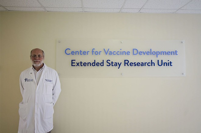 Daniel Hoft, M.D., Ph.D., directs SLU's Center for Vaccine Development - ELLEN HUTTI