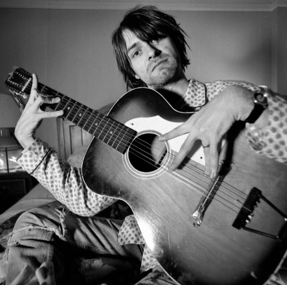 Kurt Cobain. - CHARLES PETERSON, COURTESY OF J APPEL PHOTOGRAPHS