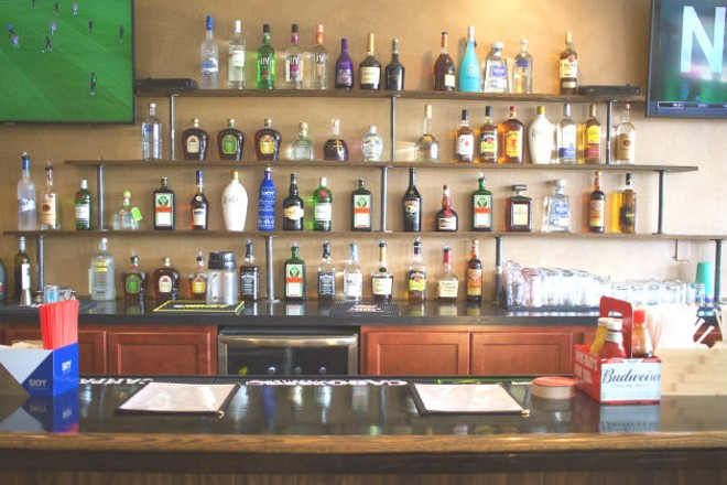 The Spot House has a full bar. - CHERYL BAEHR